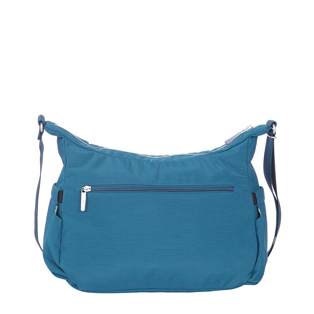 Crossbody Bag - Picardy Two-Tone Travel Crossbody Bag Back [Navy Blue]