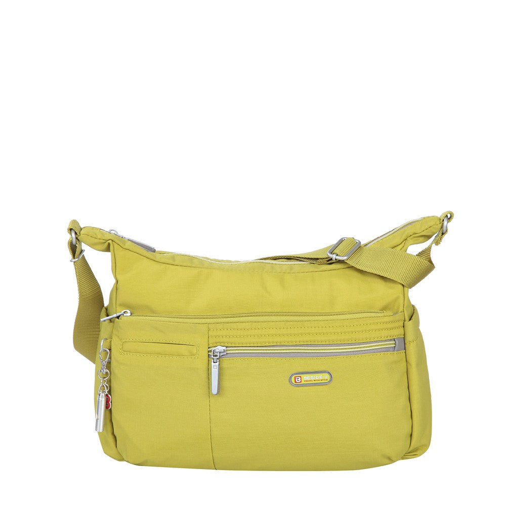 Crossbody Bag - Picardy Two-Tone Travel Crossbody Bag Front [Citronelle Green]