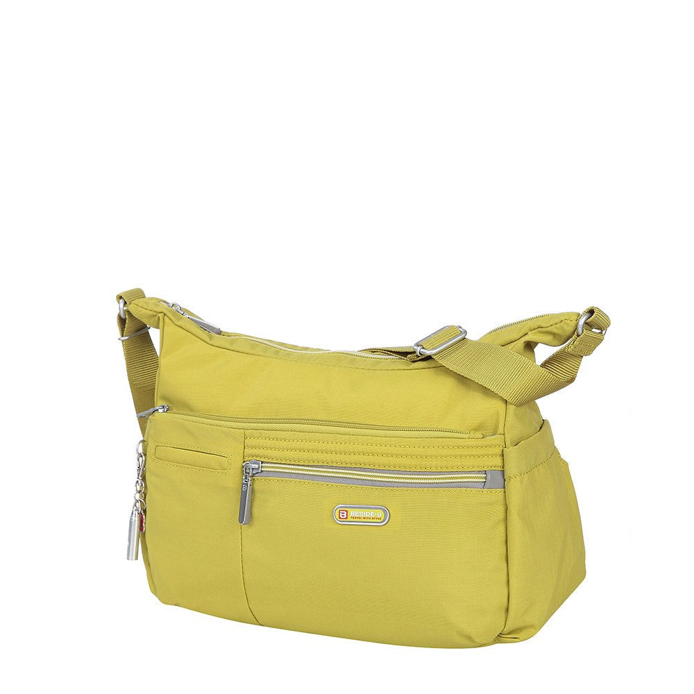 Crossbody Bag - Picardy Two-Tone Travel Crossbody Bag Angled [Citronelle Green]