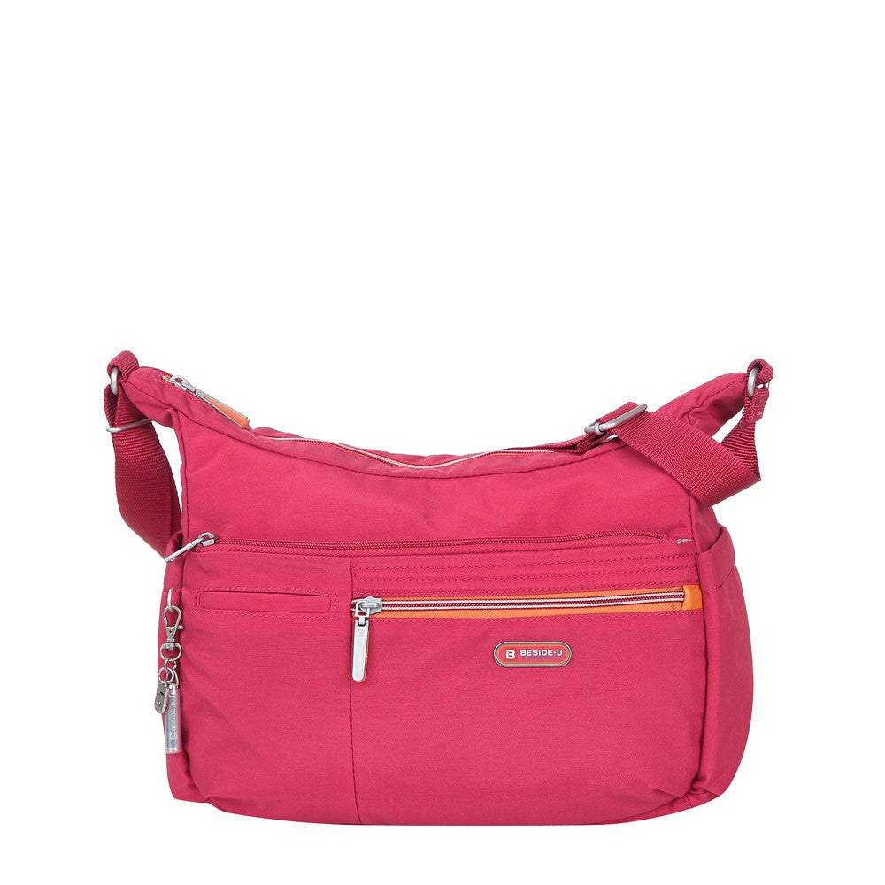 Crossbody Bag - Picardy Two-Tone Travel Crossbody Bag Front [Heart Red]