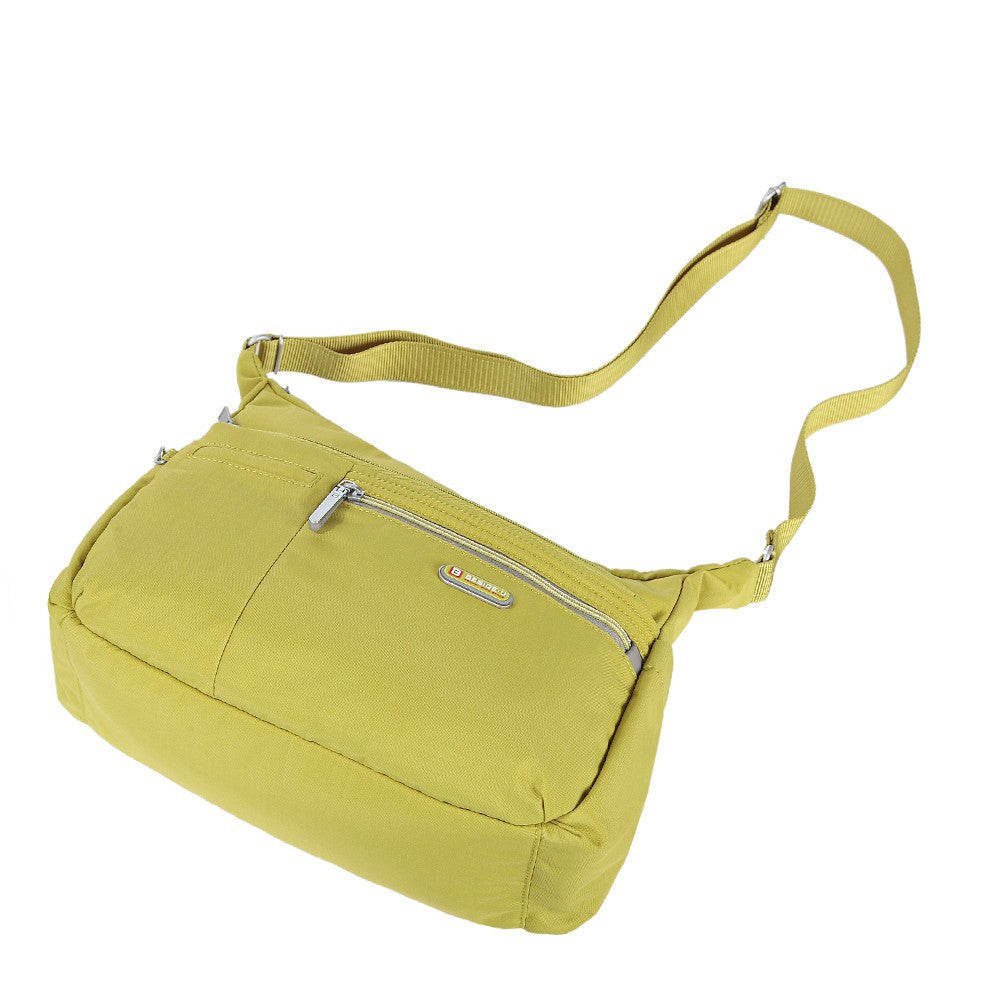 Crossbody Bag - Picardy Two-Tone Travel Crossbody Bag Lying Down [Citronelle Green]