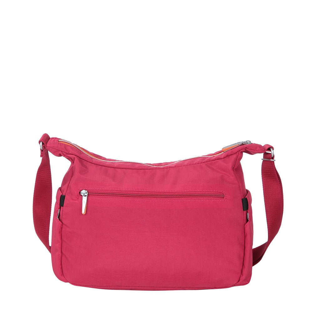 Crossbody Bag - Picardy Two-Tone Travel Crossbody Bag Back [Heart Red]