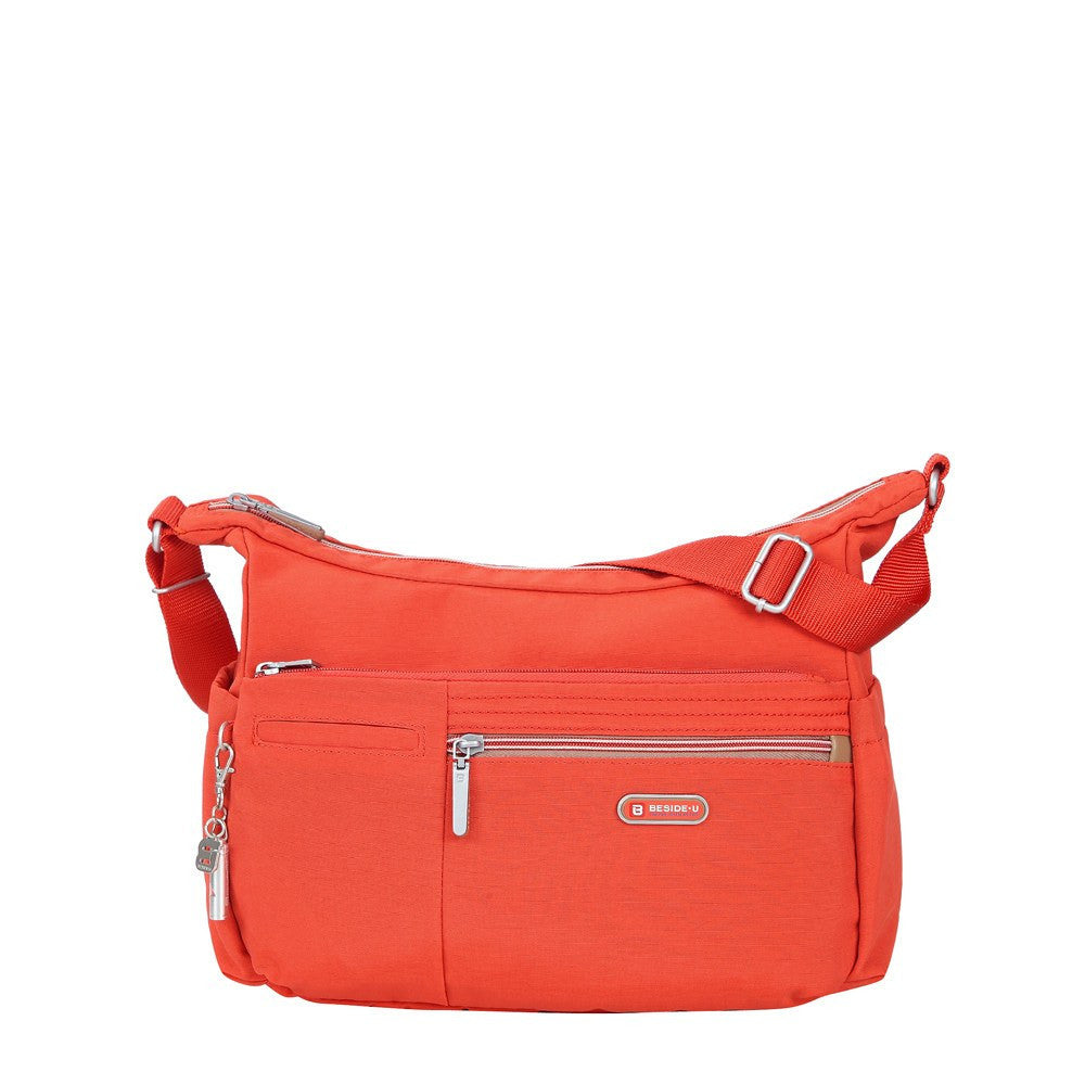 Crossbody Bag - Picardy Two-Tone Travel Crossbody Bag Front [Sweet Orange]