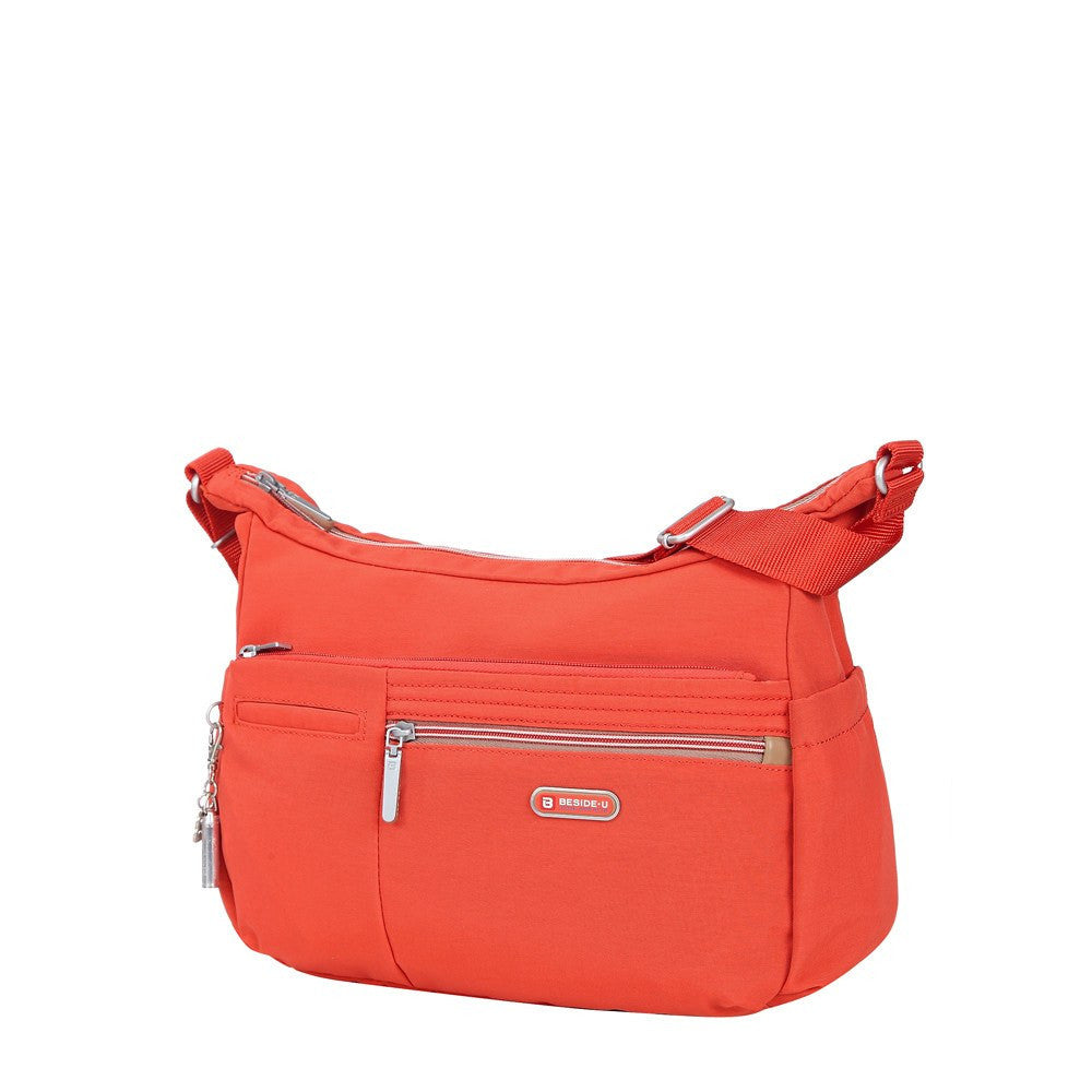 Crossbody Bag - Picardy Two-Tone Travel Crossbody Bag Angled [Sweet Orange]