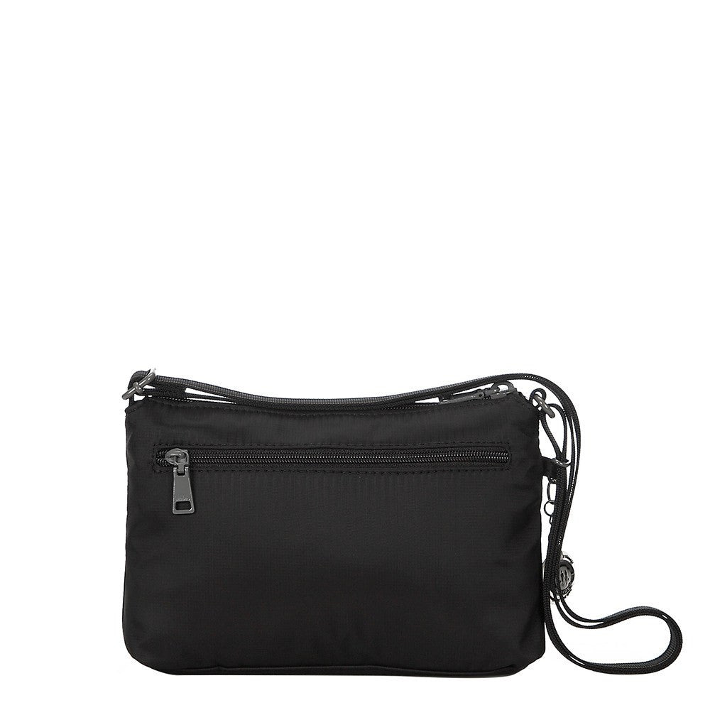Crossbody Bag - Sandbach RFID Pocket Small Travel Crossbody Bag Back [Black]