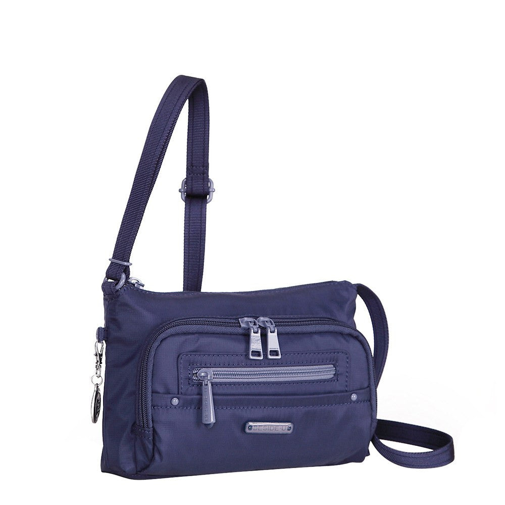 Crossbody Bag - Sandbach RFID Pocket Small Travel Crossbody Bag Angled [Blue Depths]