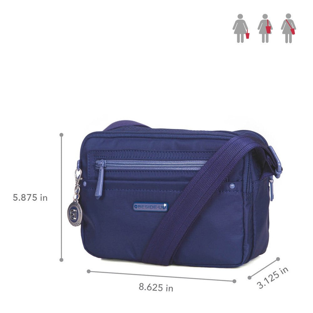Crossbody Bag - Tomah RFID Pocket Small Crossbody Bag Size [Blue Depths]