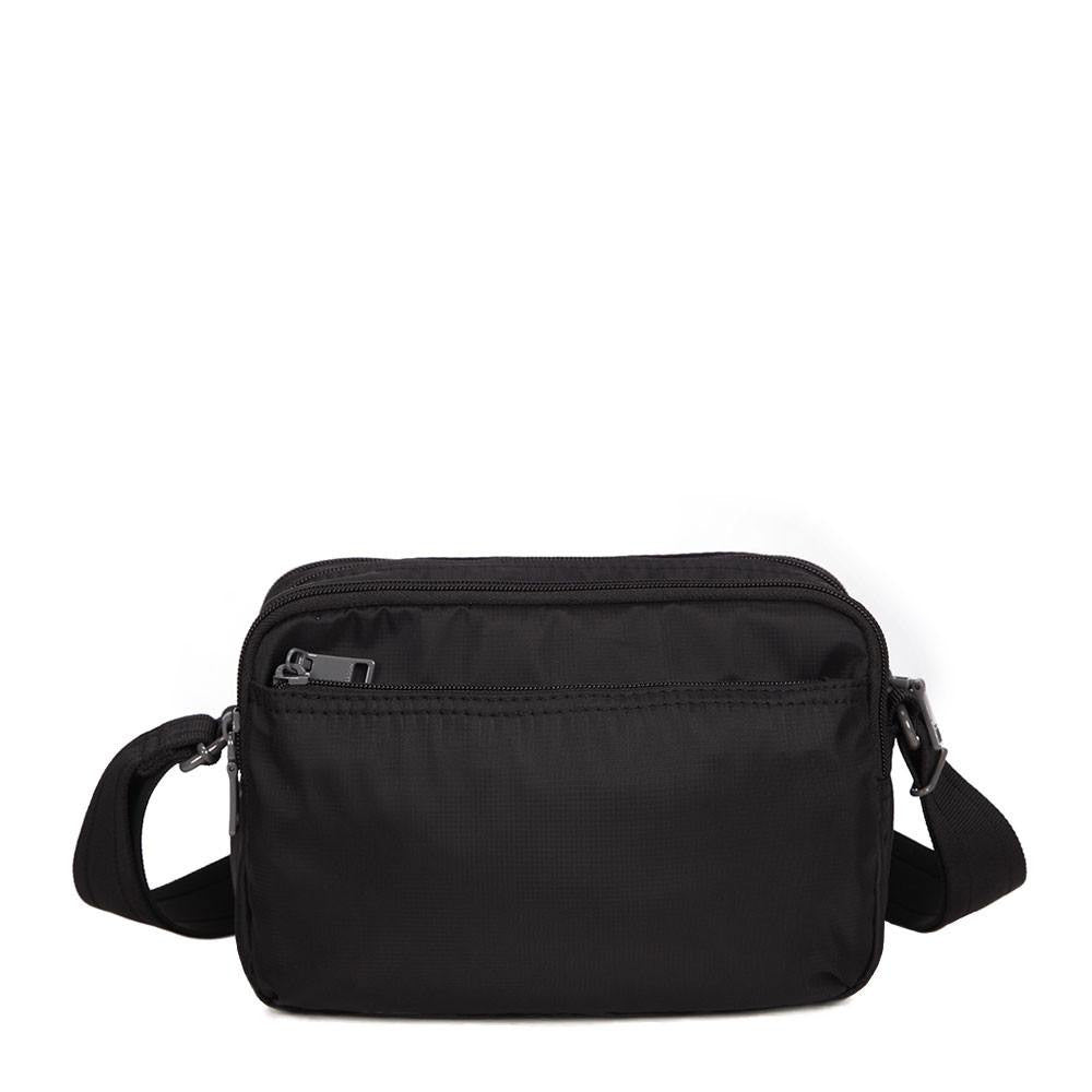 Crossbody Bag - Tomah RFID Pocket Small Crossbody Bag Back [Black]