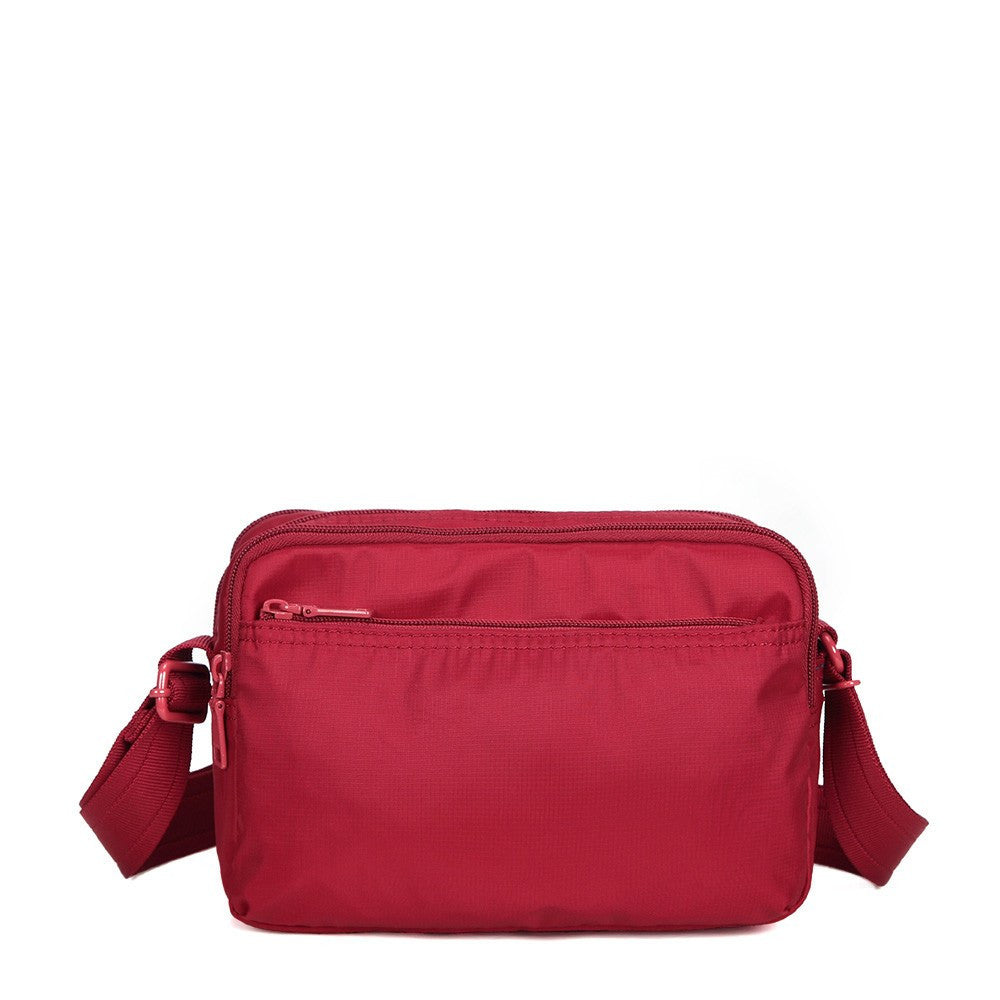 Crossbody Bag - Tomah RFID Pocket Small Crossbody Bag Back [Jester Red]