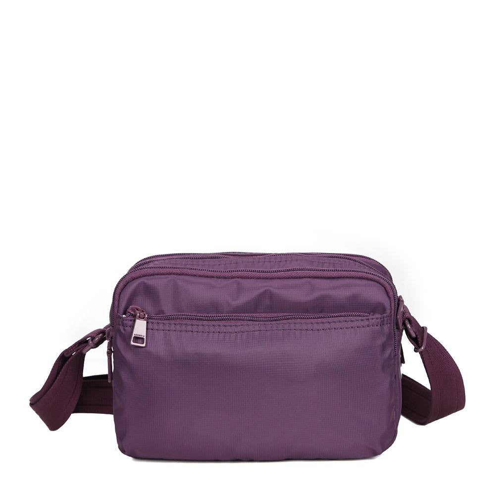 Crossbody Bag - Tomah RFID Pocket Small Crossbody Bag Back [Wineberry Purple]