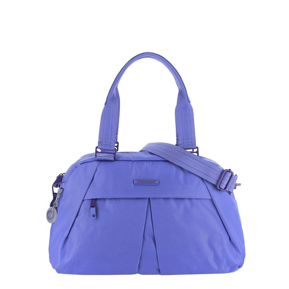 Satchel Handbag - Amaris RFID Pocket Multi-Functional Satchel Handbag Front [New Amparo Blue]