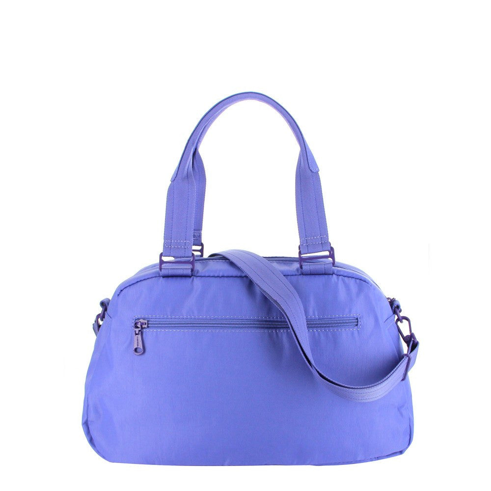 Satchel Handbag - Amaris RFID Pocket Multi-Functional Satchel Handbag Back [New Amparo Blue]