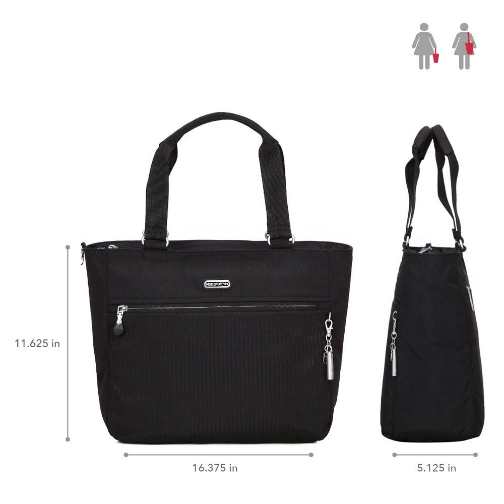 Tote Bag - Taylor Debossed Travel Tote Bag Size [Black]