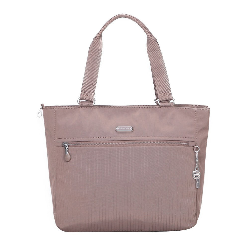 Tote Bag - Taylor Debossed Travel Tote Bag Front [Zinc Grey]