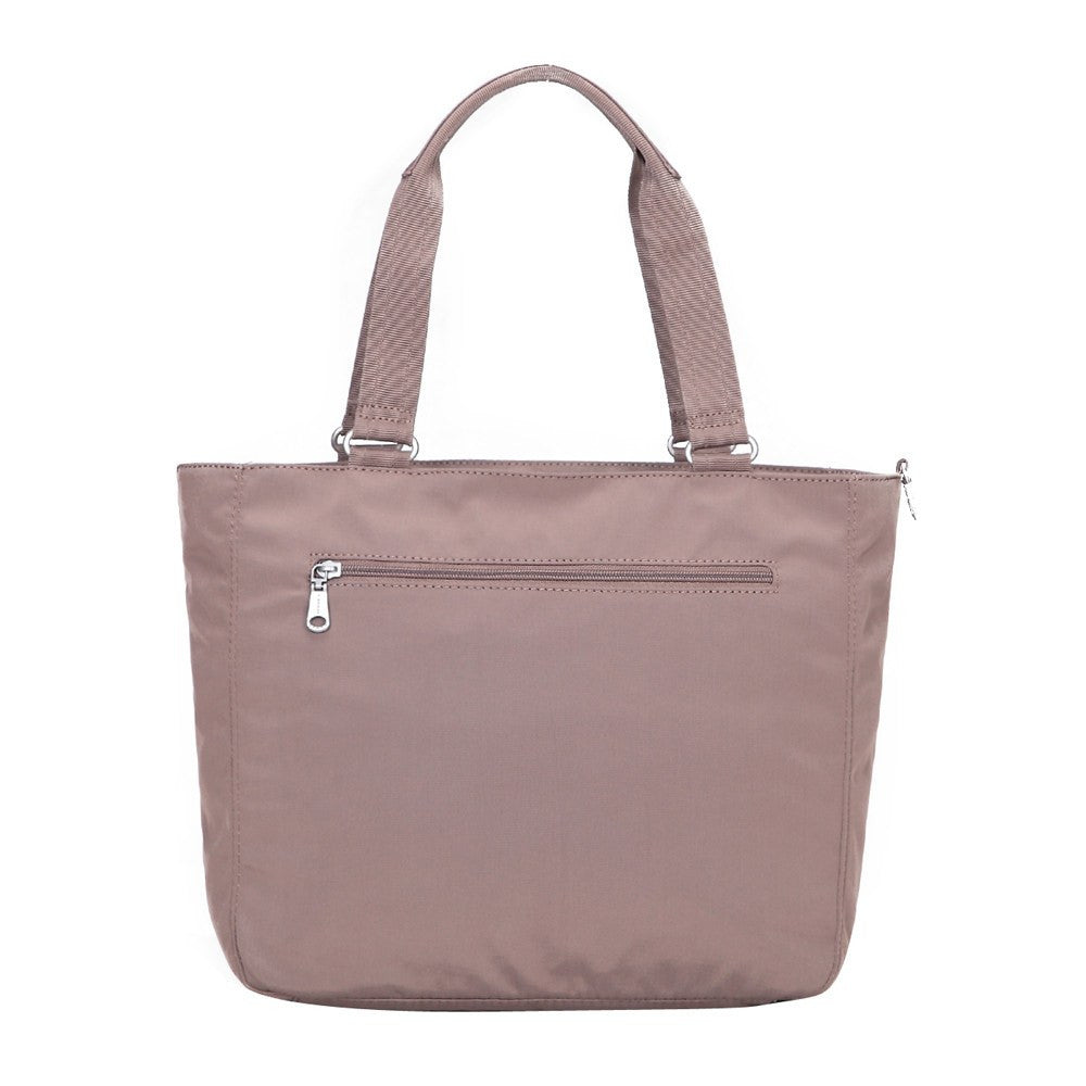 Tote Bag - Taylor Debossed Travel Tote Bag Back [Zinc Grey]