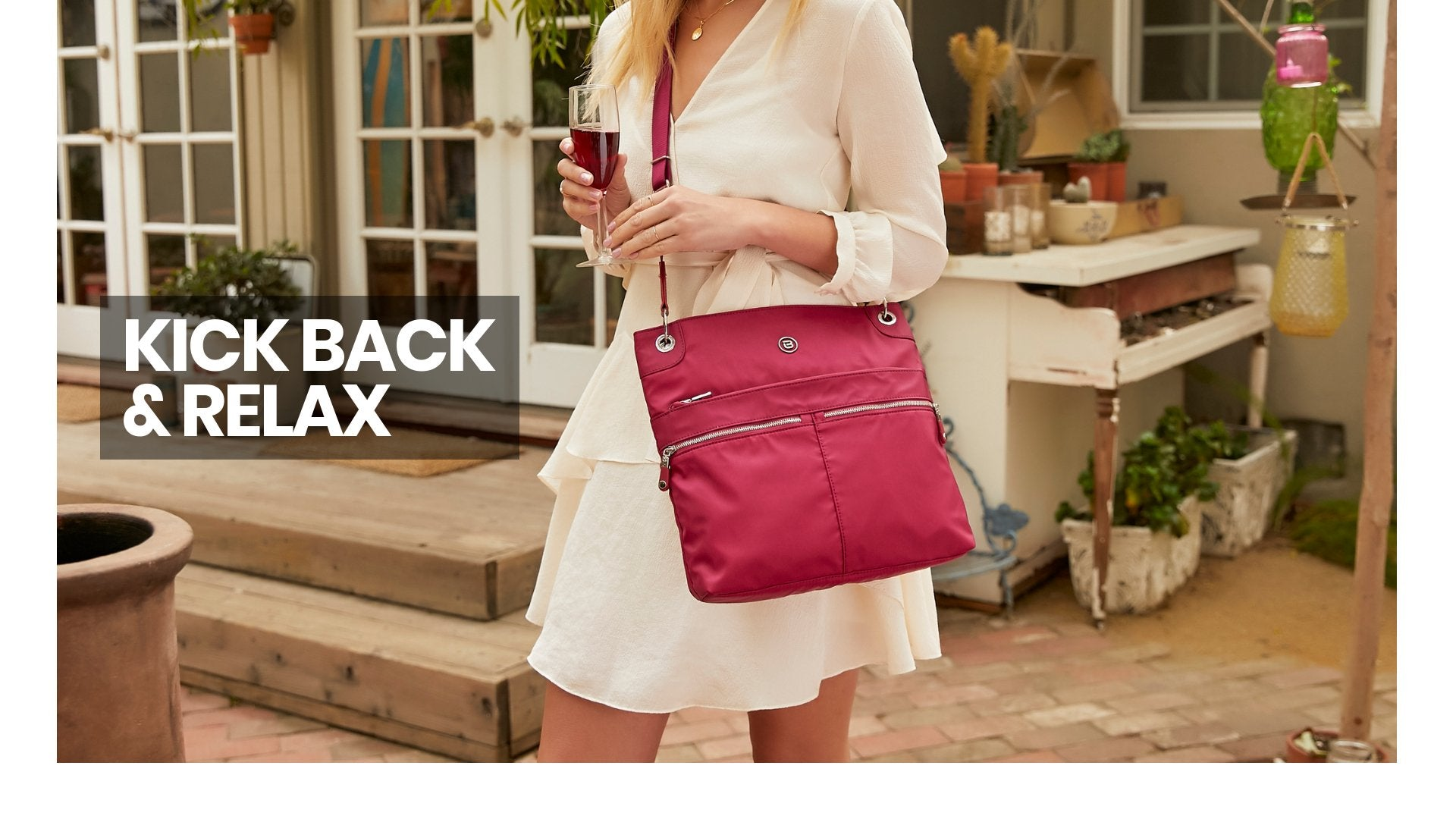 Fall Campaign Video 2016 Your Story Beside-U Women satchel lightweight backpack crossbody tote convertible school travel handbag purse wholesale cute bag banner
