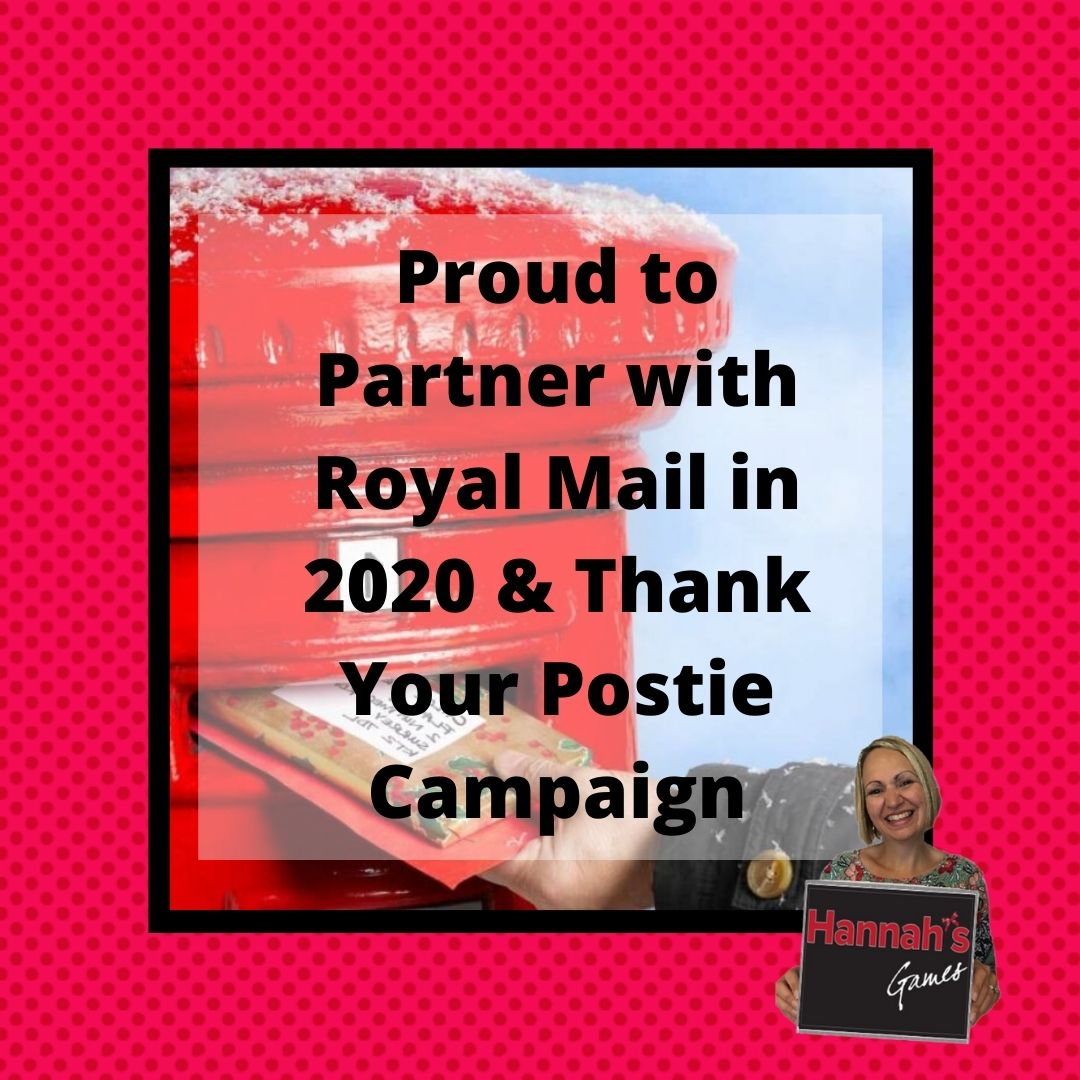 Proud to Partner with Royal Mail & the Thank Your Postie Campaign