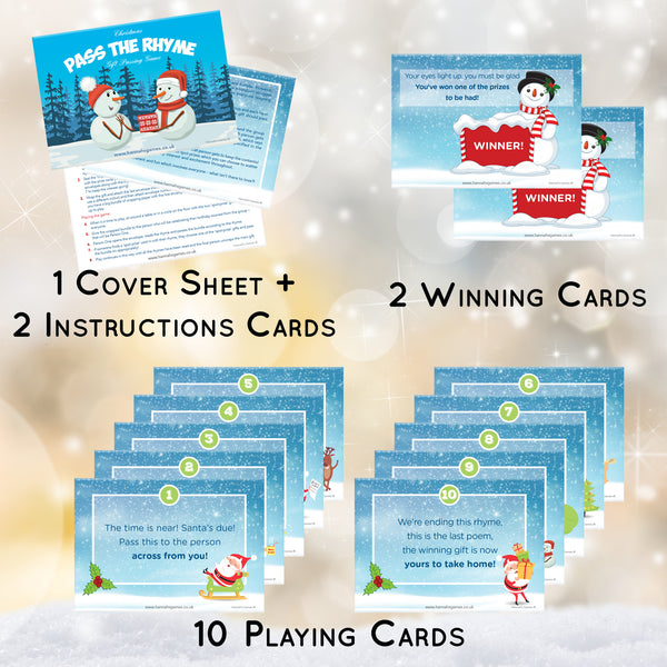 Christmas Pass the Parcel Game - Childrens Xmas Games *just add gifts*