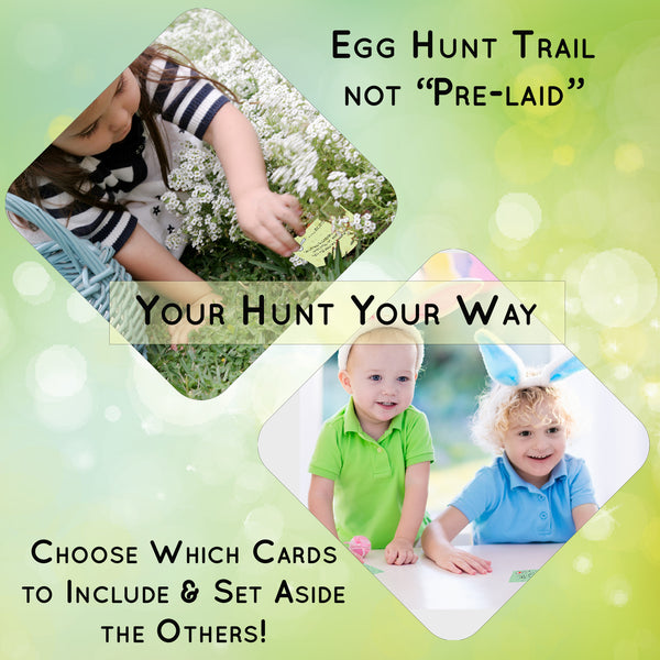 Outdoor Easter Egg Hunt Clues Game