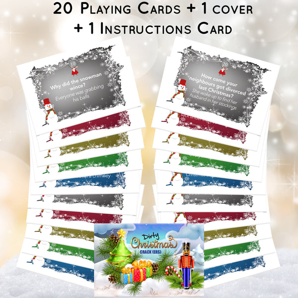 Christmas Games for Adults SAVER PACK for Grown ups