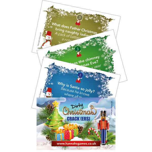 Rude Cracker Fillers For Adults Christmas jokes - Xmas Adult gifts for cracker
