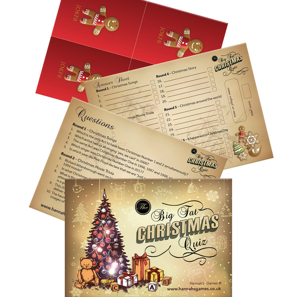 christmas games christmas quiz christmas trivia cards christmas eve box fillers holiday games christmas eve boxes secret santa gifts