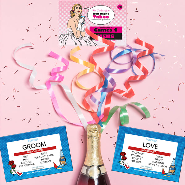 Taboo Hen Party Game