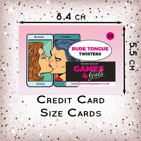 Rude Tongue Twisters Hen Party Game