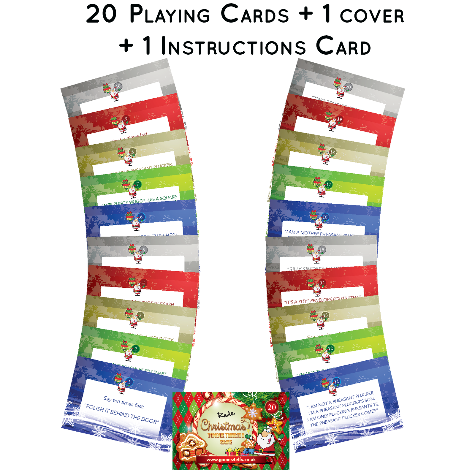 Christmas Games For Adults Saver Pack For Xmas Grown Up Giggles Hannah S Games