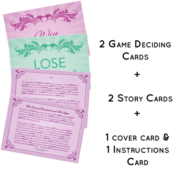 Left Right Hen Party Game