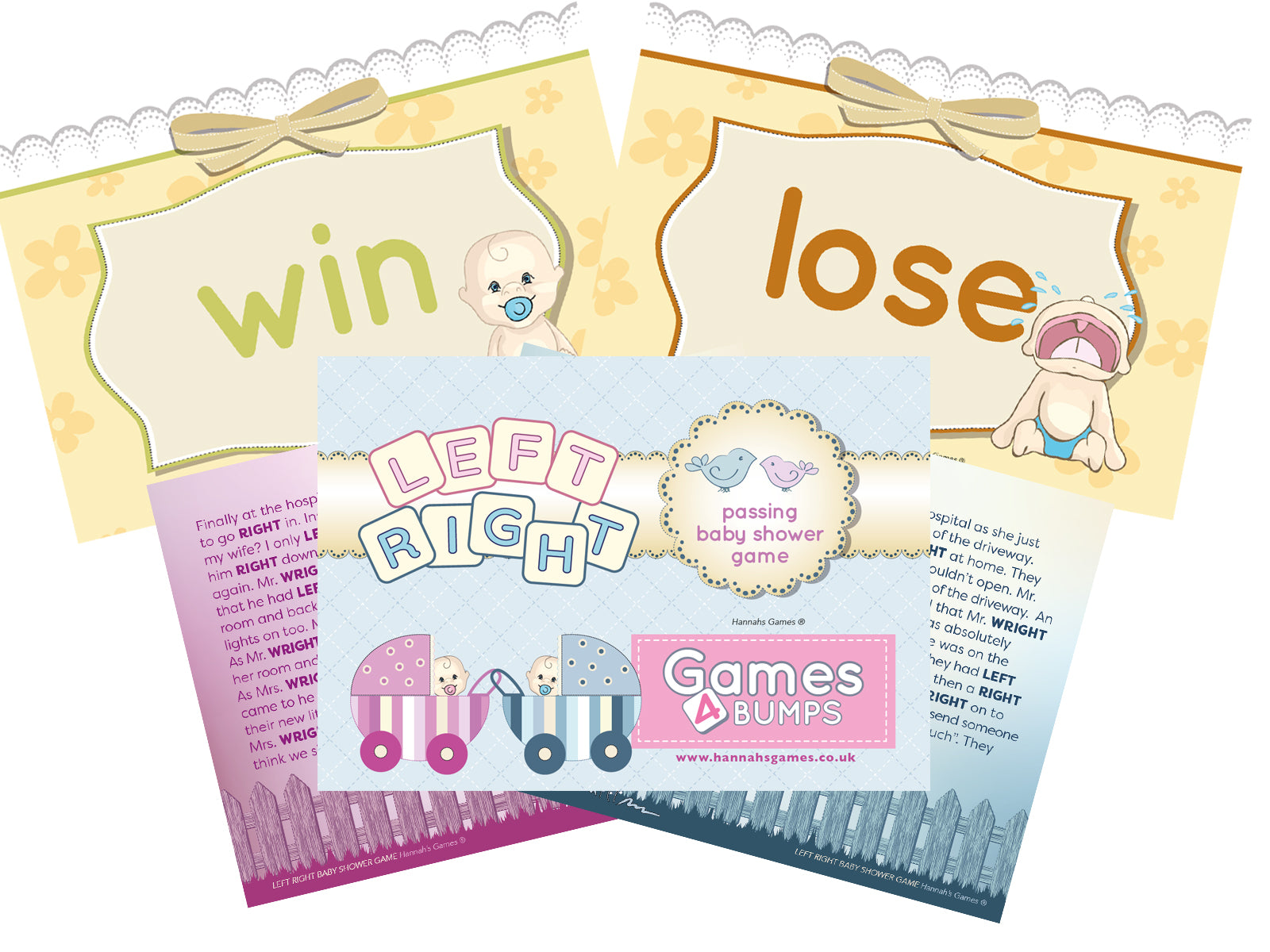 Mr right mrs right baby shower game