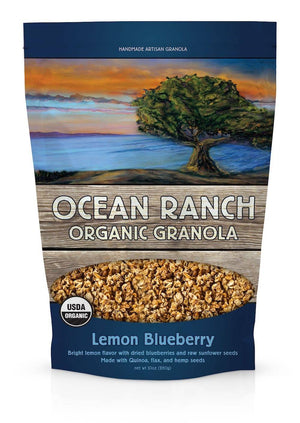 Ocean Ranch Organics Lemon Blueberry Multi-Grain Organic Granola - Case of 6 Ocean Ranch Organics