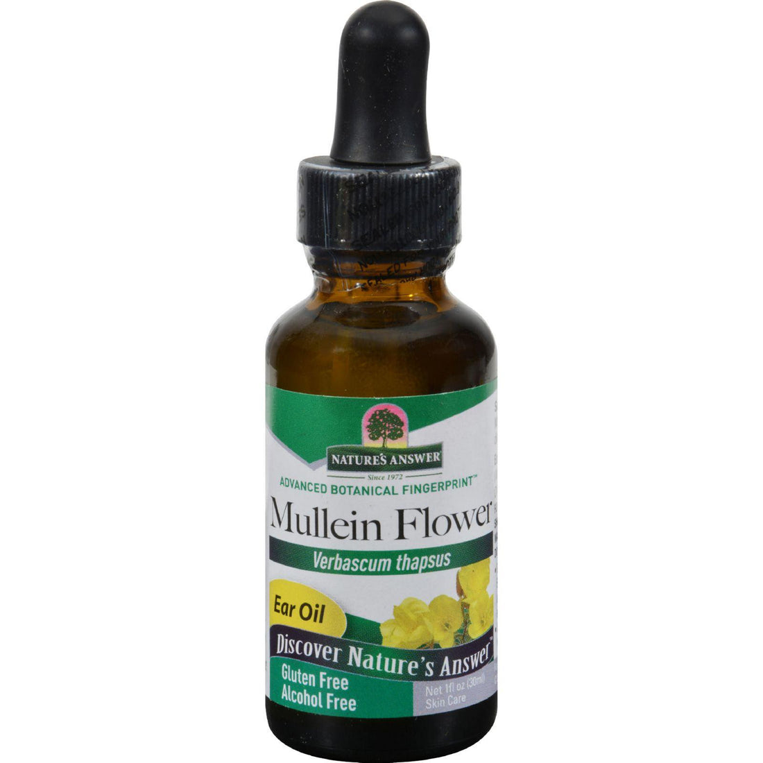 Mother Mantis: Nature's Answer Mullein Flower Alcohol Free - 1 Fl Oz Nature's Answer