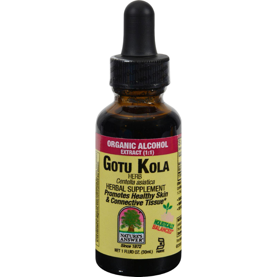 Mother Mantis: Nature's Answer Gotu Kola Herb - 1 Oz Nature's Answer