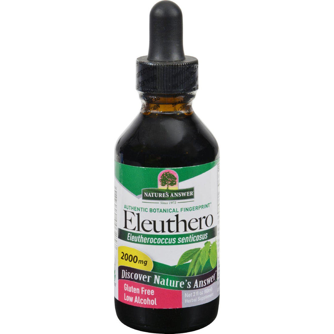 Mother Mantis: Nature's Answer Eleuthero - 2 Oz Nature's Answer