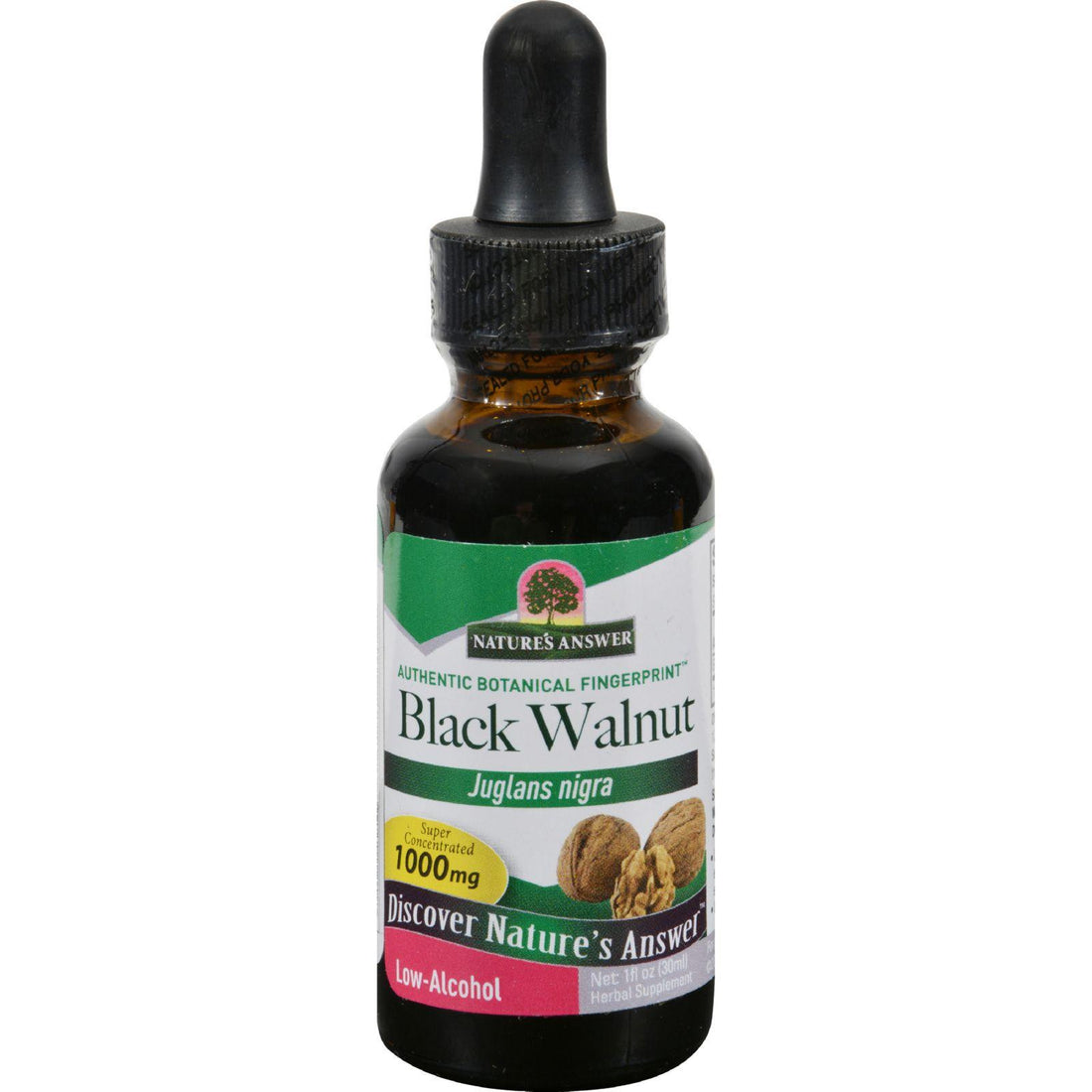 Mother Mantis: Nature's Answer Black Walnut Hulls - 1 Fl Oz Nature's Answer