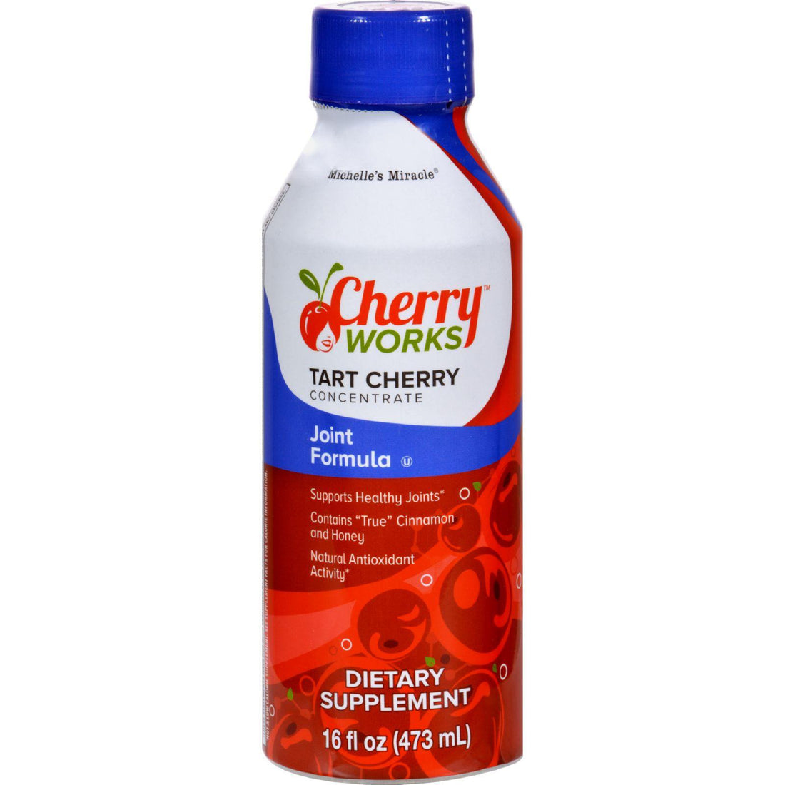 Mother Mantis: Michelle's Miracle Tart Cherry Concentrate Joint Formula - 16 Fl Oz Michelle's Miracle
