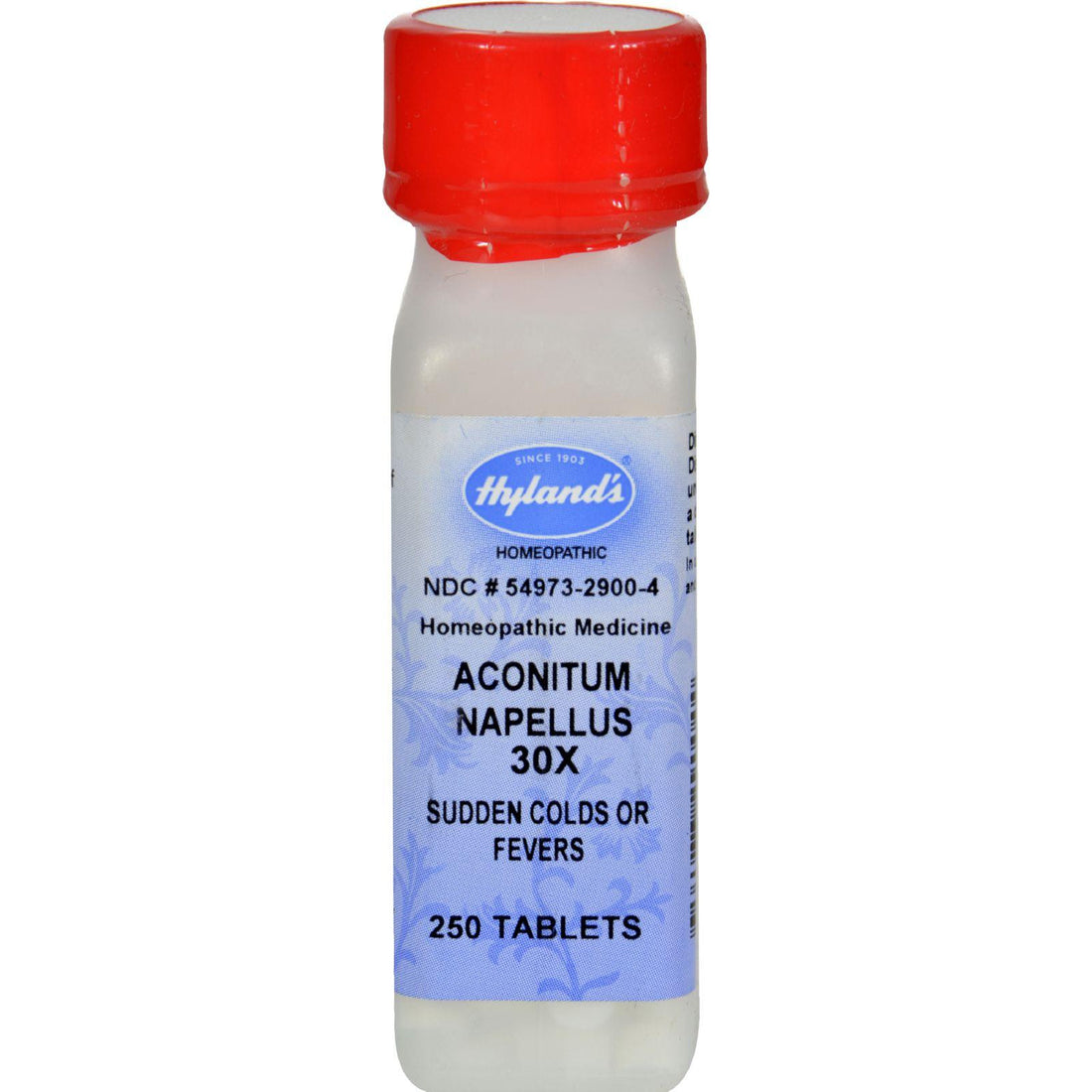 Mother Mantis: Hyland's Aconitum Napellus 30x - 250 Tablets Hyland's