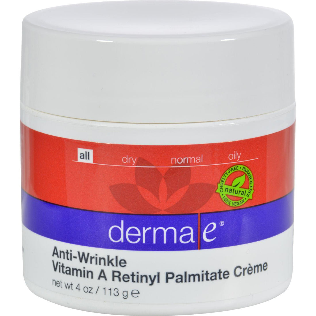 Mother Mantis: Derma E Refining Vitamin A Creme - 4 Oz Derma E
