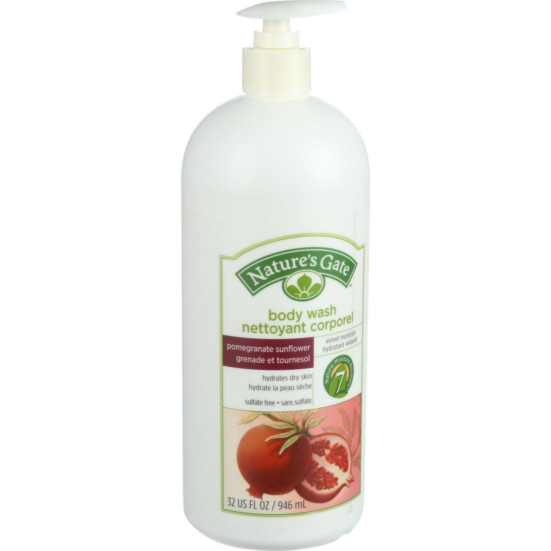 Mother Mantis: Nature's Gate Body Wash - Pomegranate Sunflower - 32 Oz Nature's Gate
