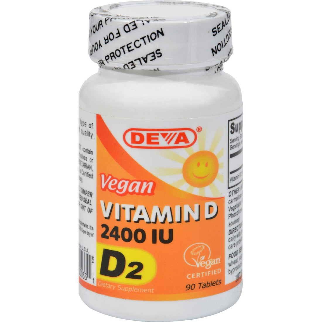 Mother Mantis: Deva Vegan Vitamin D - 2400 Iu - 90 Tablets Deva Vegan Vitamins