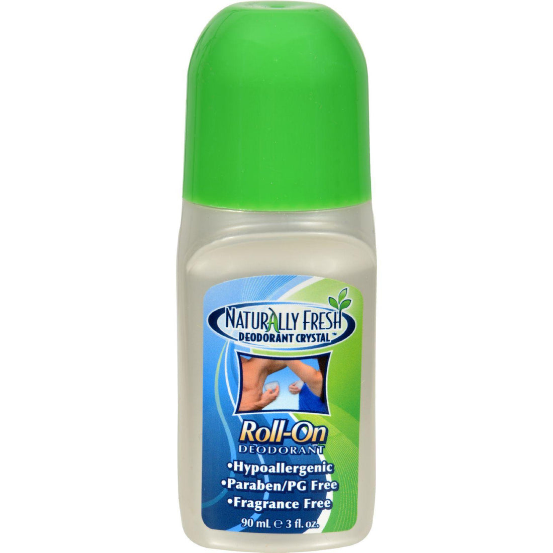 Mother Mantis: Naturally Fresh Roll On Deodorant Crystal - 3 Oz Naturally Fresh