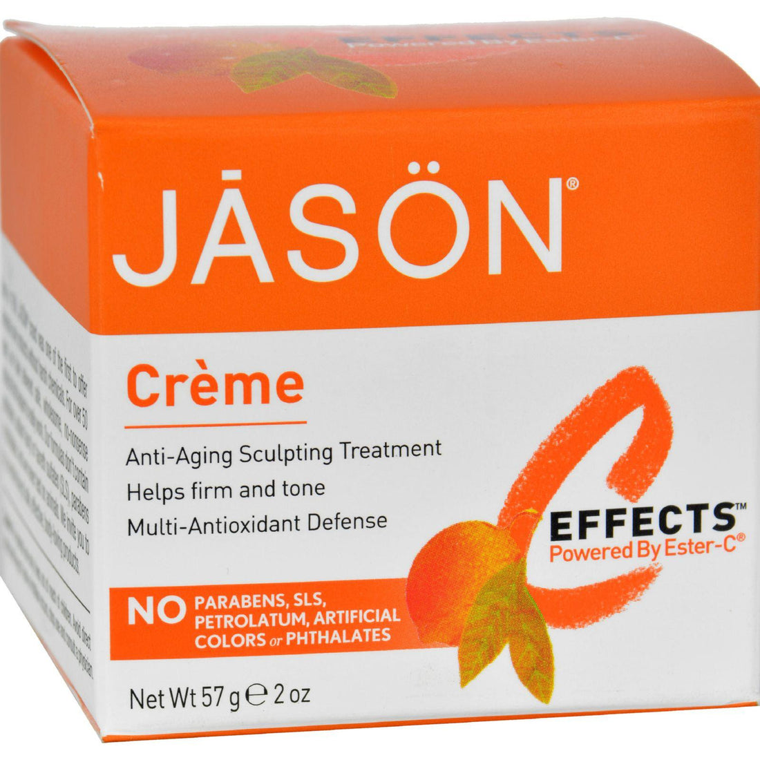 Mother Mantis: Jason Pure Natural Creme C Effects Powered By Ester-c - 2 Oz Jason Natural Products