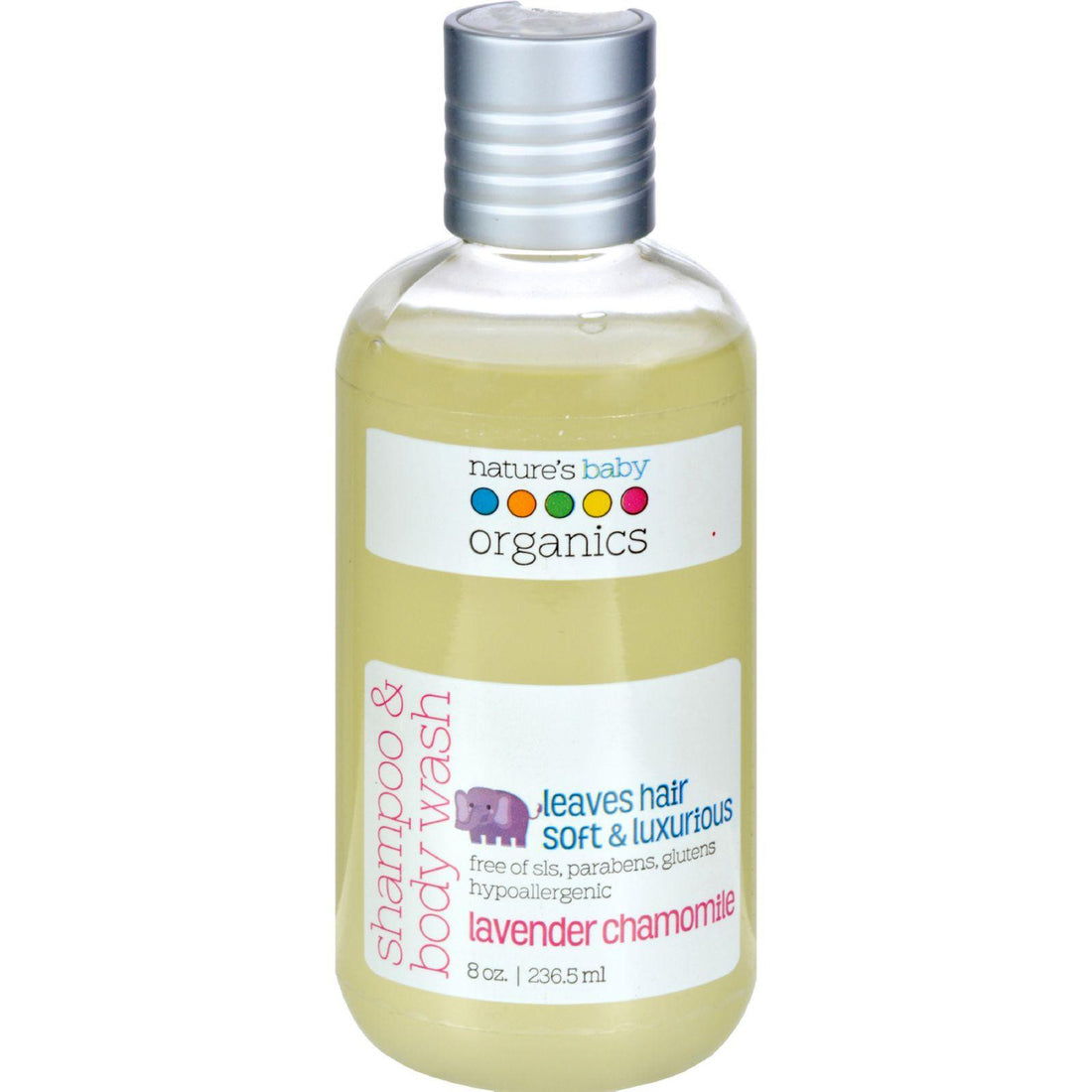Mother Mantis: Nature's Baby Organics Shampoo And Body Wash Lavender Chamomile - 8 Fl Oz Nature's Baby Organics