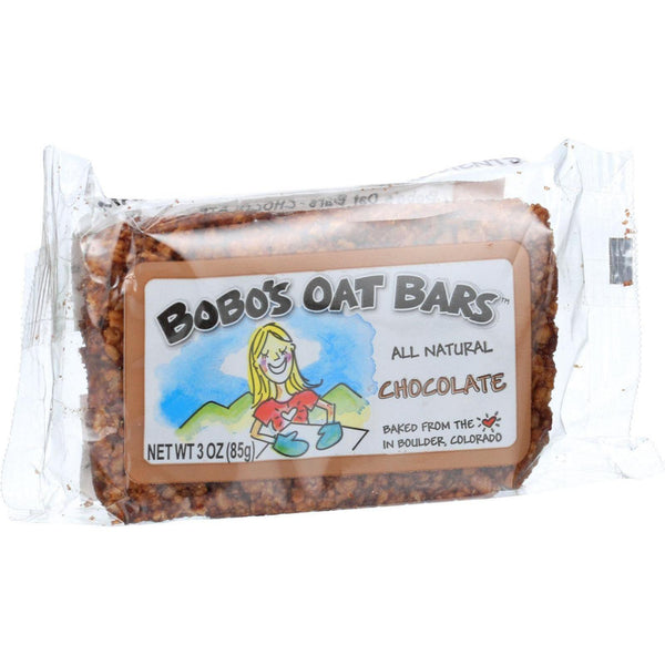 Mother Mantis: All Natural Chocolate Oat Bar Bobo's Oat Bars