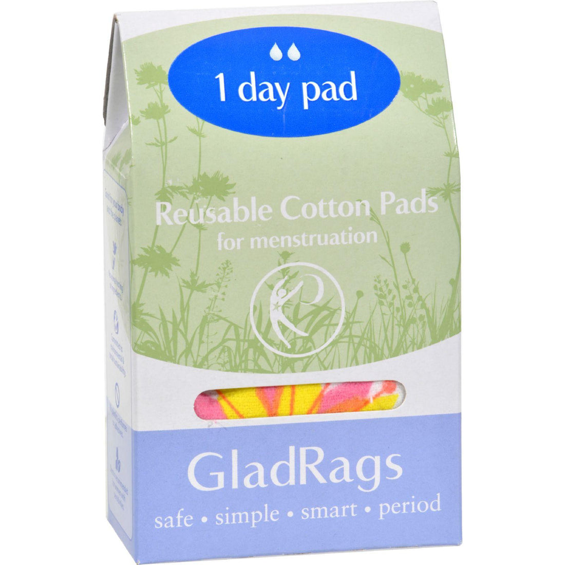 Mother Mantis: Gladrags Color Cotton Day Pad - 1 Pack Gladrags