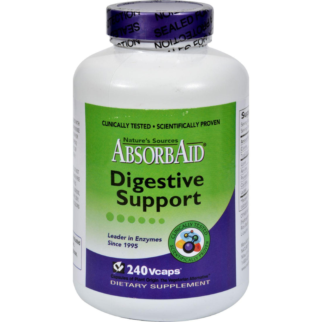 Mother Mantis: Absorbaid Digestive Support - 240 Vcaps Absorbaid