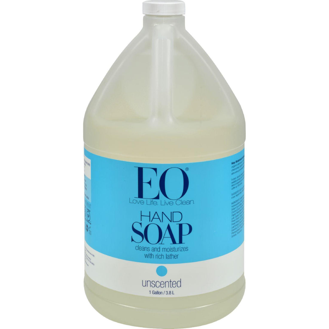 Mother Mantis: Eo Products Liquid Hand Soap Refill Unscented - 128 Fl Oz Eo Products