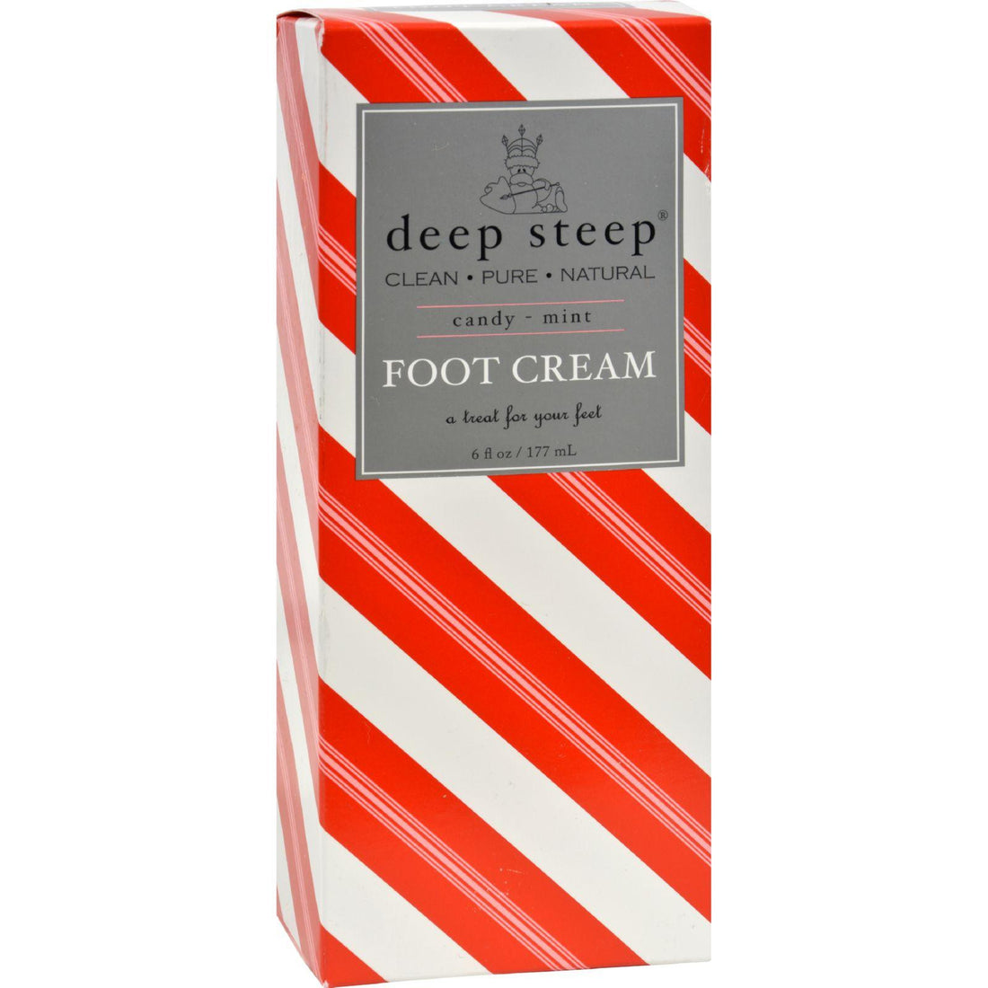 Mother Mantis: Deep Steep Foot Cream Candy Mint - 6 Fl Oz Deep Steep