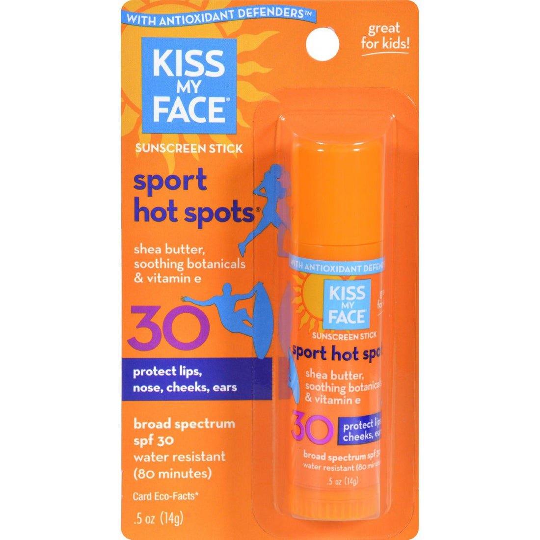 Mother Mantis: Kiss My Face Sun Care Hotspots Spf 30 - 0.5 Fl Oz - Case Of 6 Kiss My Face